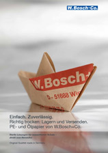 Cover Broschüre PE-Papier Ölpapier, Paraffin-Papier