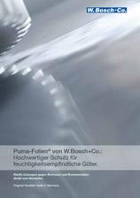 Cover Puma-Folie Broschüre
